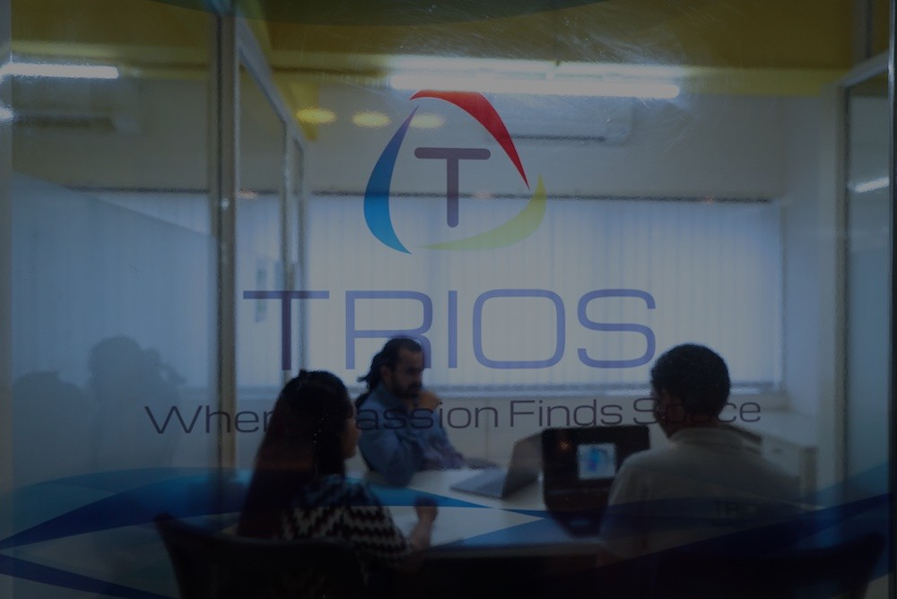 TRIOS Coworking shared office space Banner image